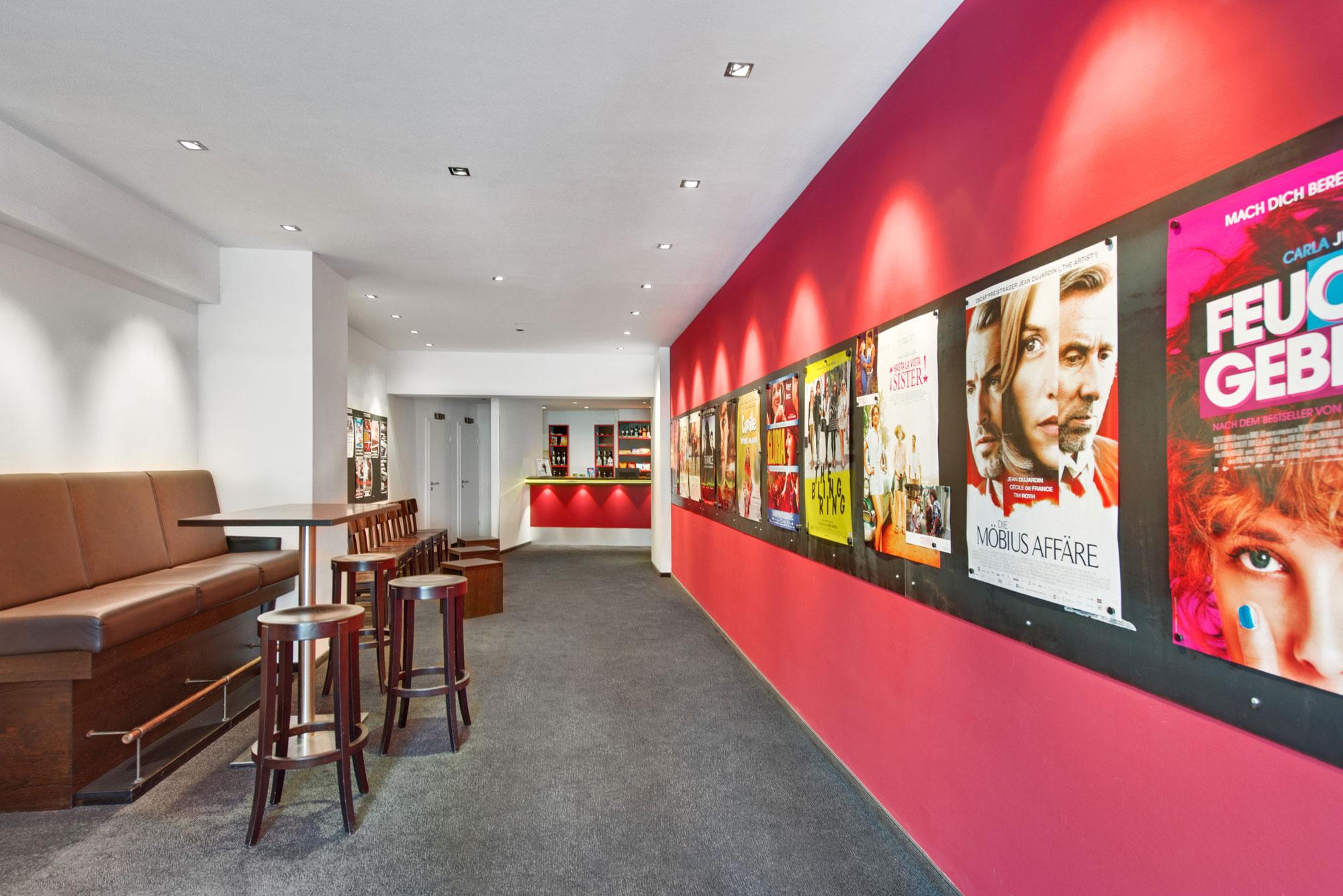 Das Foyer des Filmtheater Hasetor