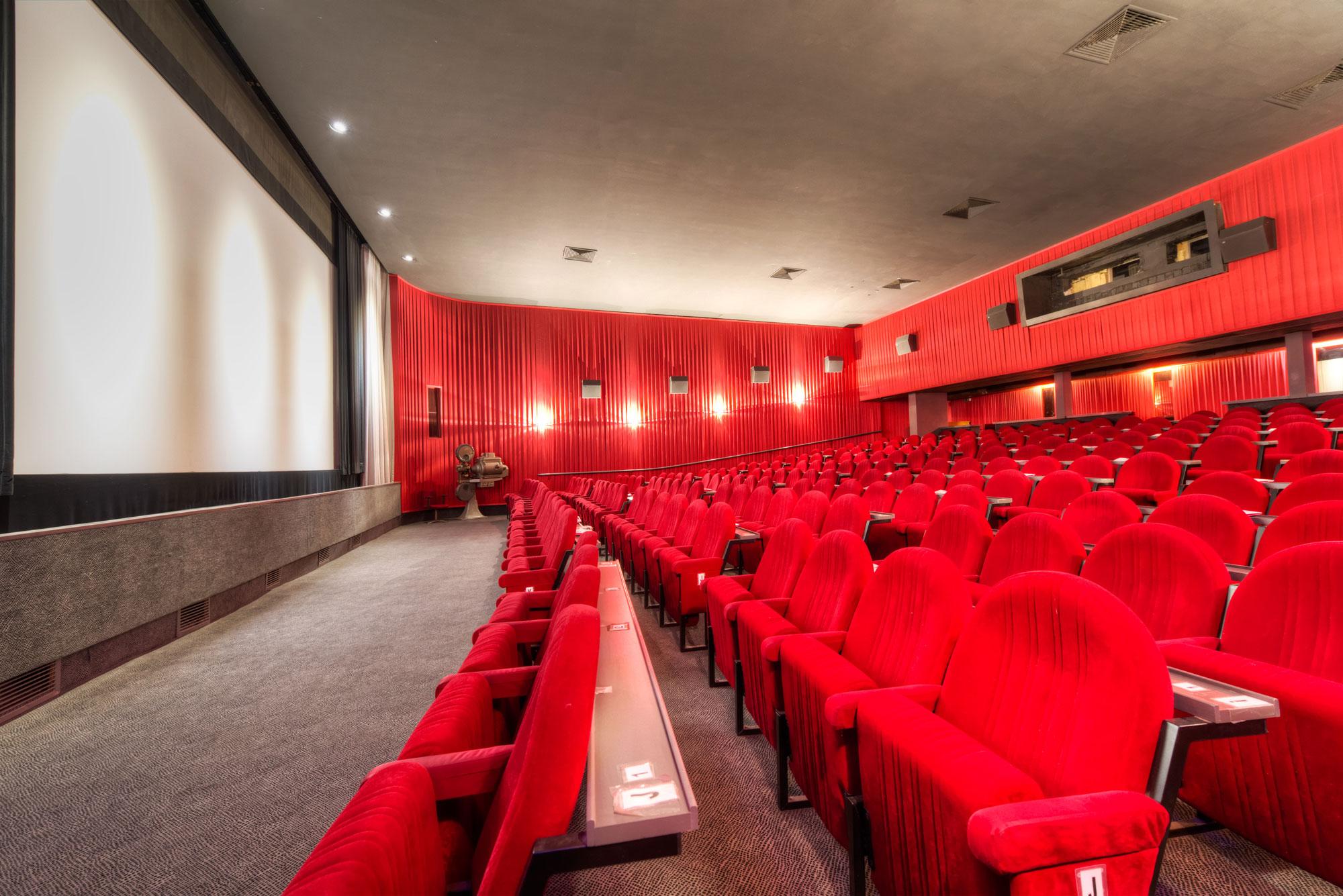 Das Filmtheater Hasetor hat 222 Sitzplätze mit einem bequemen Reihenabstand